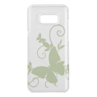beautiful green butterfly swirl love art uncommon samsung galaxy s8 plus case