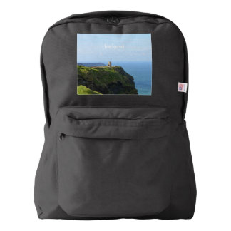 Beautiful Green Cliffs of Moher Backpack