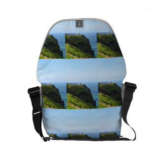 Beautiful Green Cliffs of Moher Courier Bag