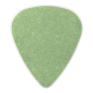 Beautiful green grass texture from golf course acetal guitar pick