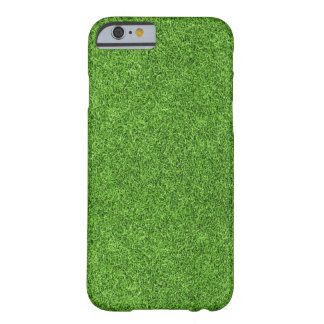 Beautiful green grass texture from golf course barely there iPhone 6 case