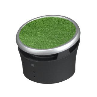 Beautiful green grass texture from golf course bluetooth speaker