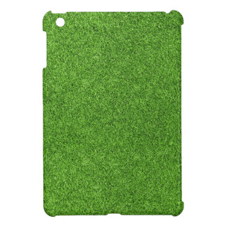Beautiful green grass texture from golf course iPad mini cover