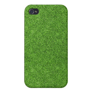 Beautiful green grass texture from golf course iPhone 4 cover