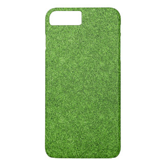 Beautiful green grass texture from golf course iPhone 7 plus case