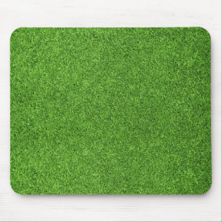 Beautiful green grass texture from golf course mouse mat