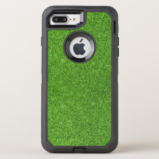 Beautiful green grass texture from golf course OtterBox defender iPhone 8 plus/7 plus case