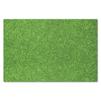 Beautiful green grass texture from golf course tissue paper
