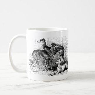 Beautiful Greyhounds Basic White Mug