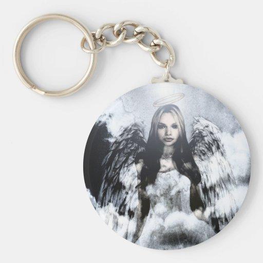 Beautiful Guardian Angel Key Chains