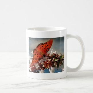 Beautiful Gulf Fritillary Butterfly Mug