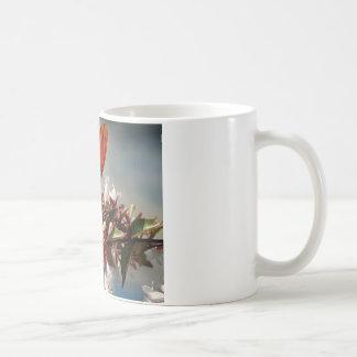 Beautiful Gulf Fritillary Butterfly Coffee Mugs