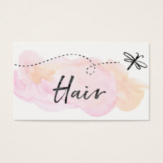 ★ Beautiful Hairdresser Business Card