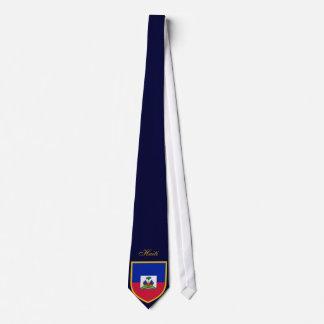 Beautiful Haiti Flag Tie