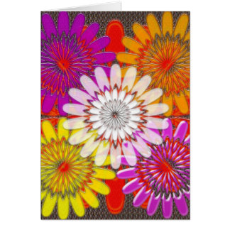 Beautiful HAPPY CHAKRA Sunflower Greetings GIFTS Greeting Card