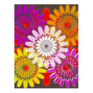Beautiful HAPPY CHAKRA Sunflower Greetings GIFTS Postcard