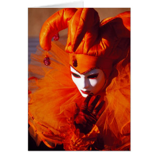 Beautiful Harlequin Card