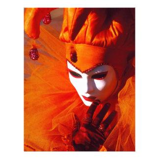 Beautiful Harlequin Letterhead