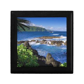 Beautiful Hawaii Small Square Gift Box
