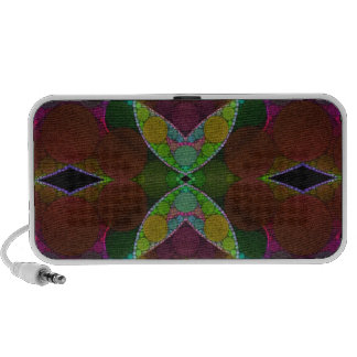Beautiful Heart Abstract Travelling Speaker