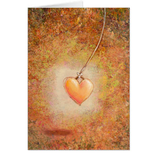 Beautiful heart love patience faith painting art greeting cards