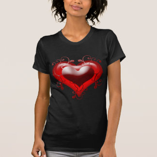 Beautiful Heart with Added Details Tee Shirt