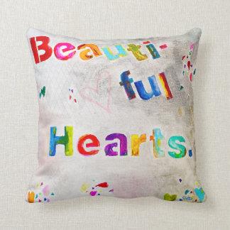 Beautiful Hearts Cushion