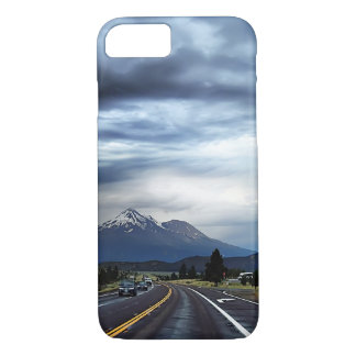Beautiful highway scenery iPhone 7 case