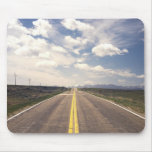 Beautiful highway scenery mouse pad
