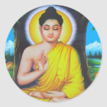 Beautiful Hindu Dieties and Goddesses Round Sticker