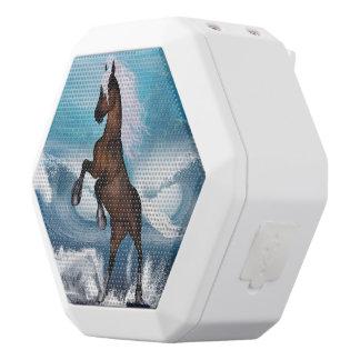 Beautiful horse white boombot rex bluetooth speaker