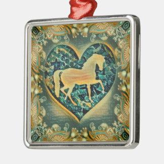 Beautiful Horse Christmas Ornament