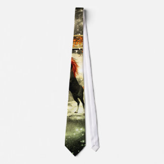Beautiful horse in the universe tie