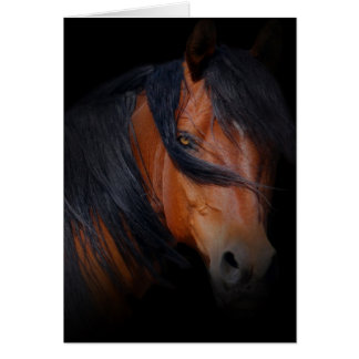 Beautiful Horse Missing You Card