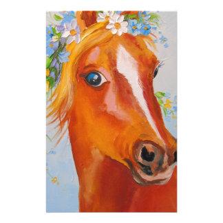Beautiful horse stationery