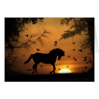 Beautiful Horse Sympathy Card