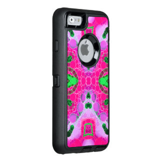 Beautiful Hot Pink Abstract OtterBox Defender iPhone Case