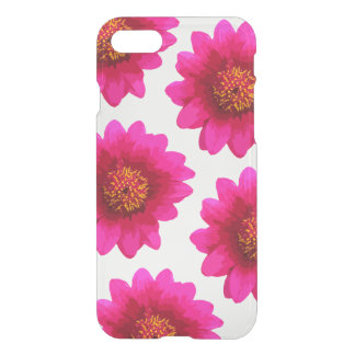 Beautiful Hot Pink Girly Flowers Floral Painting iPhone 7 Case