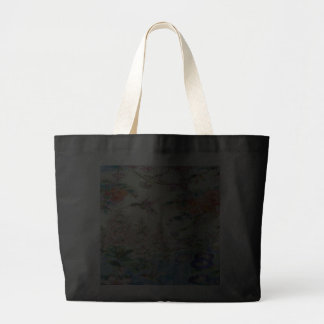 Beautiful Hummingbirds Flowers Stained Glass Art Canvas Bag
