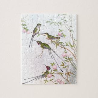 BEAUTIFUL HUMMINGBIRDS JIGSAW PUZZLE