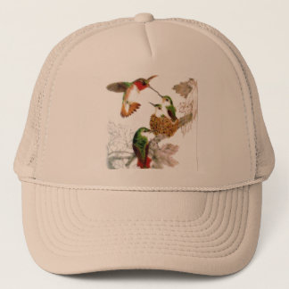 Beautiful Hummingbirds Photo Trucker Hat