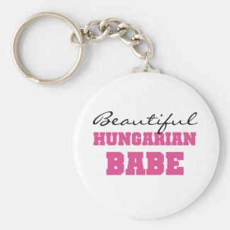 Beautiful Hungarian Babe Key Ring