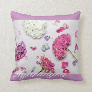 Beautiful hydrangea cushion