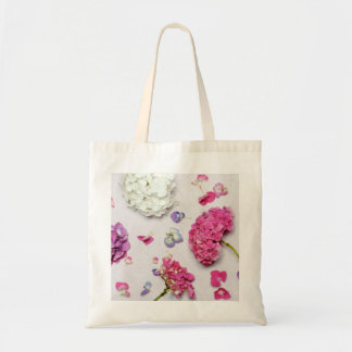 Beautiful hydrangea tote bag