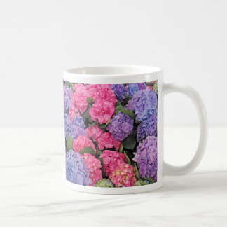 Beautiful Hydrangeas Flowers - Coffee Mug