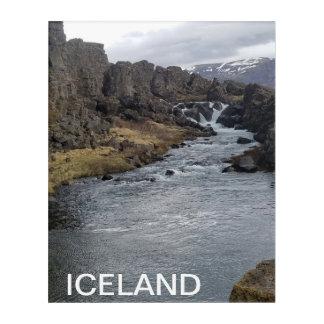 BEAUTIFUL ICELAND ACRYLIC WALL ART