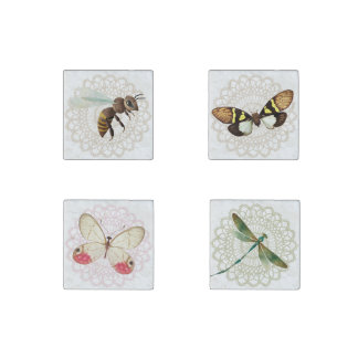 Beautiful Insects Stone Magnets Stone Magnet
