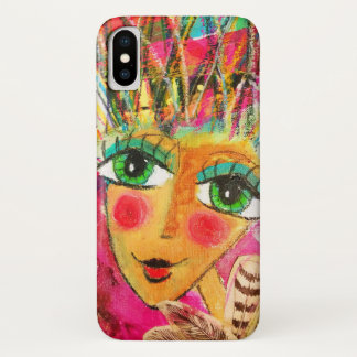 Beautiful iphone case 'Pink Angel'