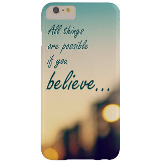 Beautiful iphone case with positive message