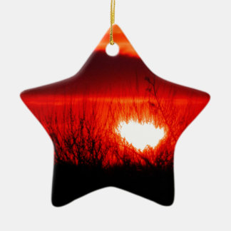 Beautiful Irish Sunset Christmas Ornament